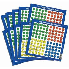 TFC Happy Hundreds Board 10 Pack
