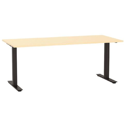 Agile 1800 Desk Nordic Maple/Black