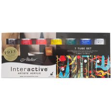Atelier Interactive 7 x 80ml Set