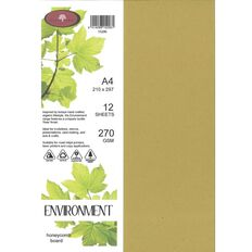 Enviro Board 270gsm 12 Pack Honeycomb A4
