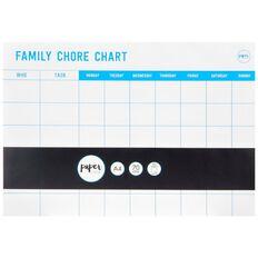 Paper Lane Chore Chart Pad Blue A4