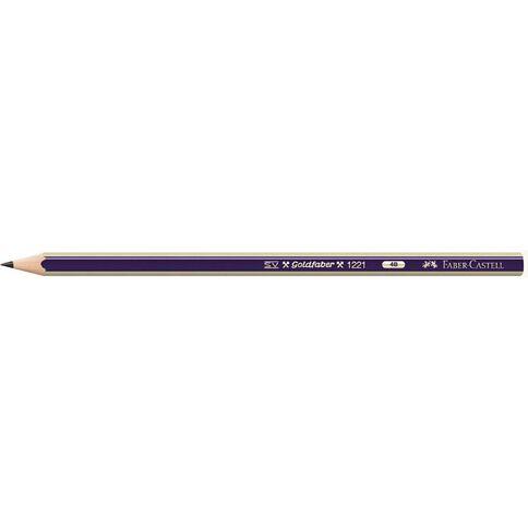 Faber-Castell Pencil Goldfaber 4B Loose Black