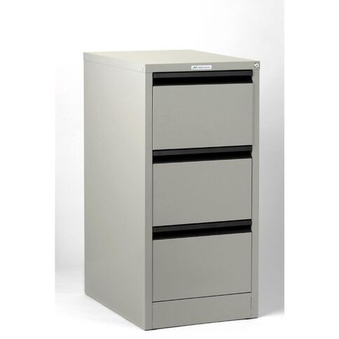 Precision Classic Filing Cabinet 3 Drawer Oyster Grey