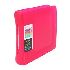 ColourHide Tuff Ringbinder 2D Pink A4