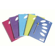 ColourHide Notebook 5 Subject 250 Page Assorted A4