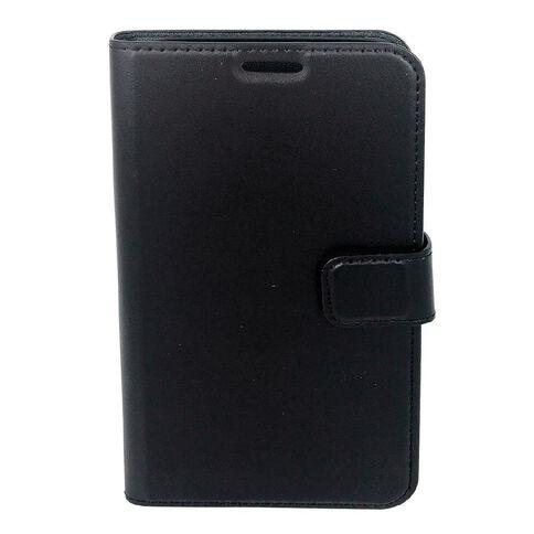 Milkshake iPhone 6+ PU Cover/Bookflip Case Black
