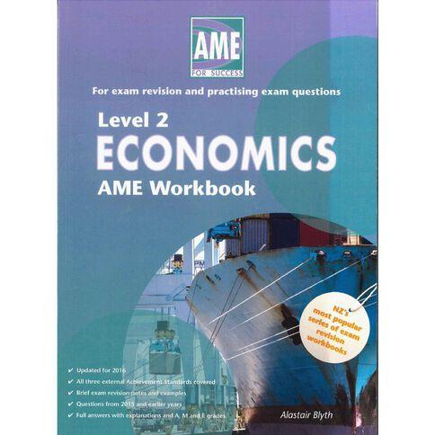 Ncea Year 12 Economics Workbook