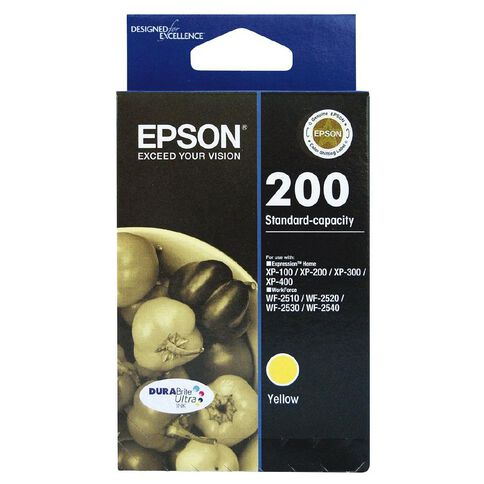 Epson Ink Cartridge 200 Ultra Yellow
