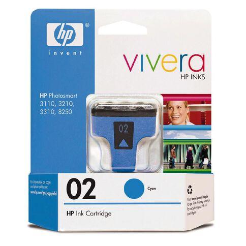 HP Ink Cartridge 02 Cyan