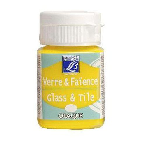 L&B Glass Tile 50Ml 143 True Yellow
