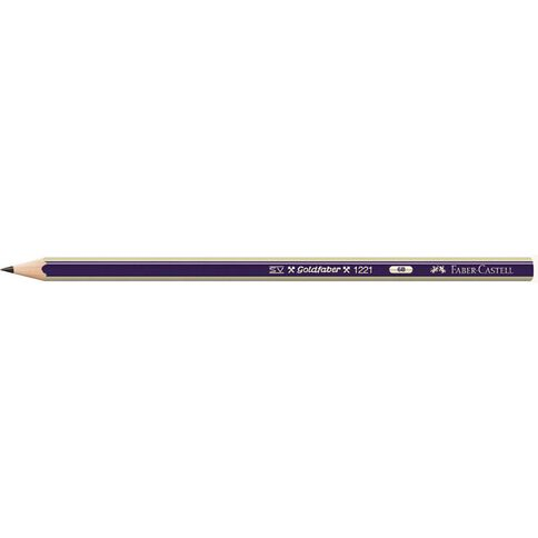 Faber-Castell Pencil Goldfaber 6B Loose Black