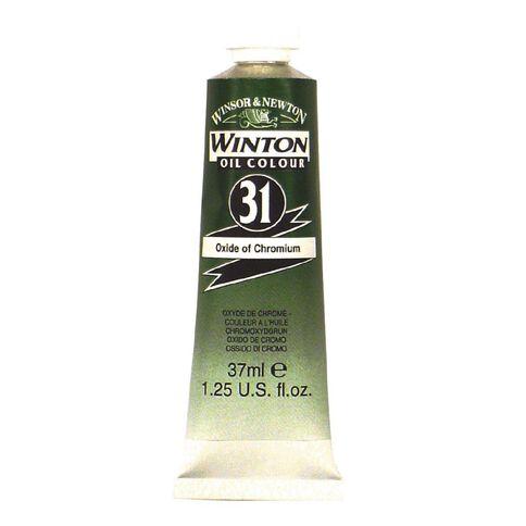 Winsor & Newton Winton Oil Paint 37ml Oxdide Chrome