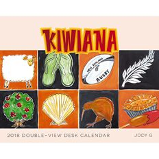 Brown Trout 2018 Calendar Kiwiana Easel