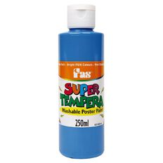 FAS Fas Paint Super Tempera 250ml Fluoro Blue