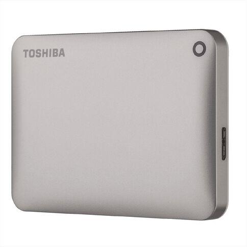 Toshiba 1TB Canvio Connect II Hard Drive Gold