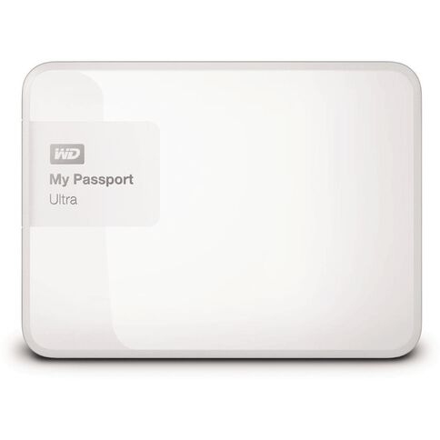 Wd My Passport Ultra 1Tb Hard Drive White White