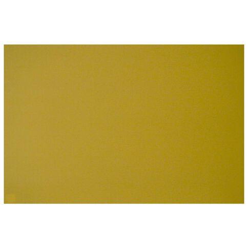 Plasti-Flute Sheet 600 x 900mm Yellow