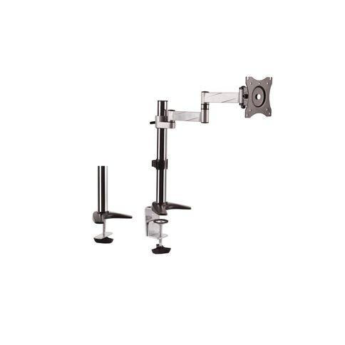 Brateck Aluminum LCD VESA Desk Mounts for LCD Screen Size 13-27