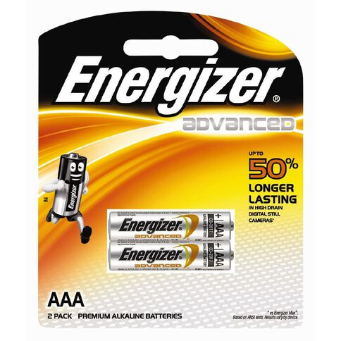 Energizer Advanced Battery  AAA 2 Pack