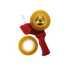 Pomona Mini Tape Dispenser Pistol Grip Red