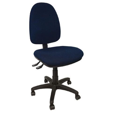 Dawell Aspen Highback Chair Navy