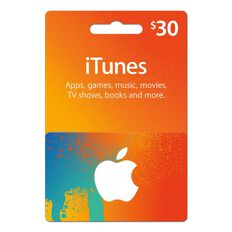Apple Itunes $30