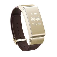 Huawei Talkband B2 with Leather Strap Gold