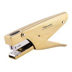 Fiskars Teresa Collins Heavy Duty Stapler Gold Multi-Coloured