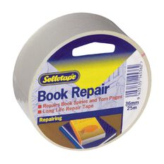 Sellotape Book Repair Tape 36mm x 25m Clear