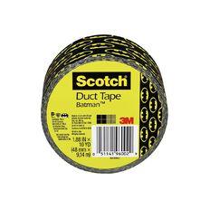 Scotch Duct Craft Tape 48mm x 9.14m Batman