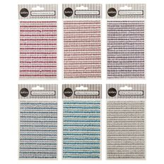 Rosie's Studio Adhesive Diamante Strips 28 Strips