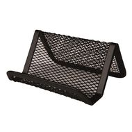 Mesh Desk Accessories Business Card Holder Black