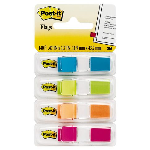 Post-It Flags Bright