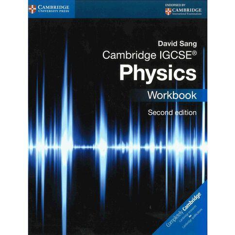 Igcse Year 11 Physics Workbook