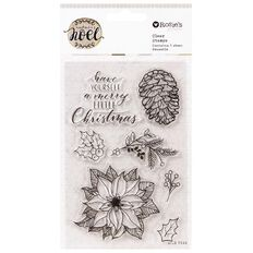 Rosie's Studio Nature's Noel Clear Stamps