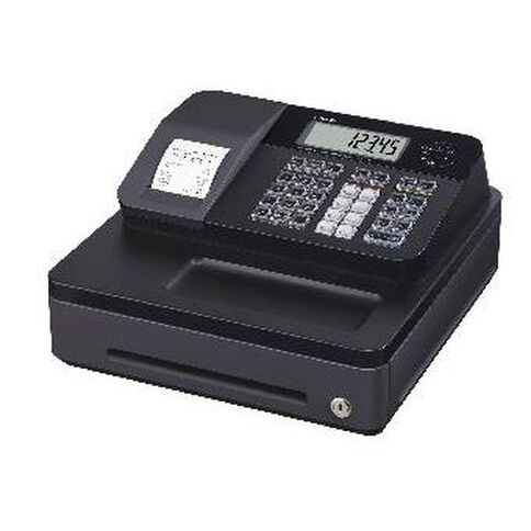 Casio Small Drawer Electronic Cash Register Se-G1S Black