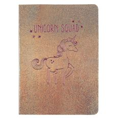 Kookie Unicorn Holographic Notebook