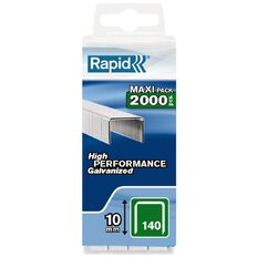 Rapid 2000 Pack of Staples Size 140/10