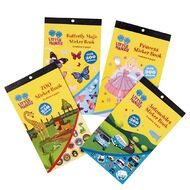 Little Hands Sticker Book 6 Pages Assorted Multi-Coloured