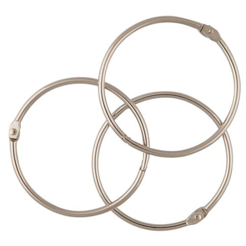 Esselte Book Rings No 1 76mm 3 Pack