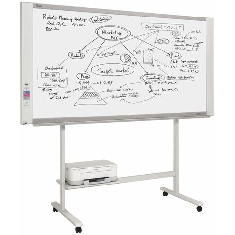 Plus Electronic Copyboard M17W With Stand & Printer
