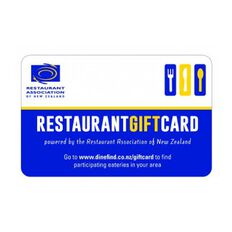 Restaurant $50 Gift Card