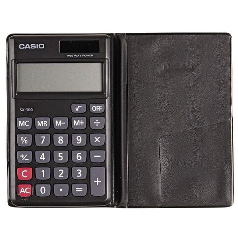 Casio Sx300 Value Handheld Calculator Black