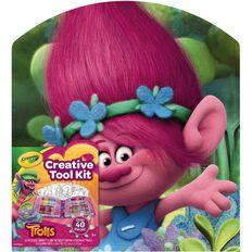 Crayola Trolls Creative Tool Kit