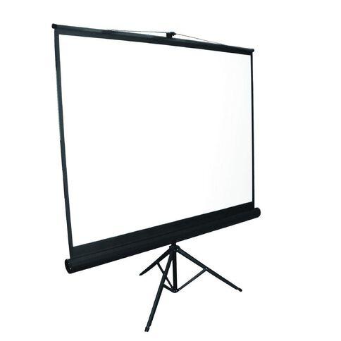 Brateck 65 Tripod Portable Projector Screen White