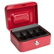 Cash Box 6 inch Red