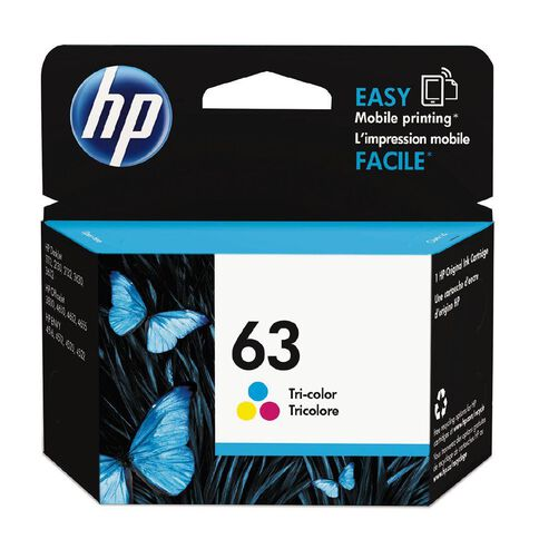 HP Ink Cartridge 63 Multi-Coloured