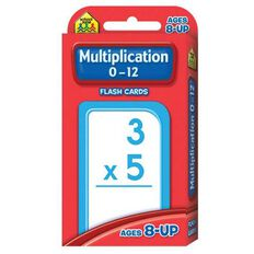 Flashcards Multiplication (8+) by Schoolzone