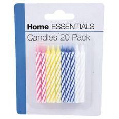 Home Essentials Candles 20 Piece