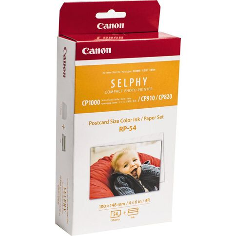 Canon Selphy Photo Paper Rp54 White